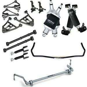 Ridetech 68 72 Chevelle A Body Air Suspension Kit Control Arms Sway Bar 11240298