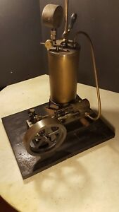 Antique 1916 Steam Engine Boiler Whistle Machinist Made Runs