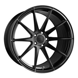 19 Vertini Rf1 3 Gloss Black Forged Concave Wheels Rims Fits Audi B8 A5 S5