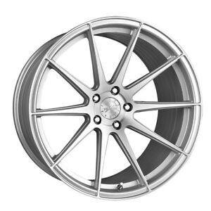 19 Vertini Rf1 3 Silver Forged Concave Wheels Rims Fits Infiniti G37 G37s Sedan