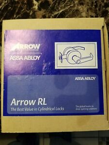 Assa Abloy Arrow Rl 11 Cylindrical Door Lever Brushed Chrome Meets Ada