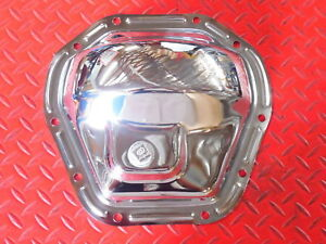 Rear End Cover Dana 44 Chrome Differential Ram Gmc Amc Jeep 4 Wd With Fill Plug