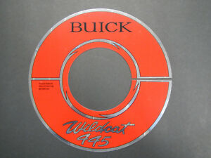 401 Buick Nailhead 445 Air Cleaner Decal Wildcat Electra Riviera 1964 1965 1966