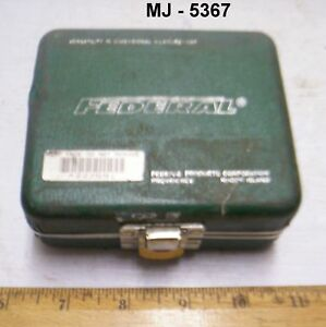 Federal Testmaster Dial Indicator Kit With Case