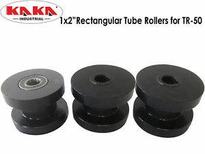 Tr50 Misc Rollers Dies 1x2 Rectangular Tube Rollers