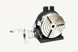 6 Rotary Table 3 Slots Horizontal Vertical Precision Quality