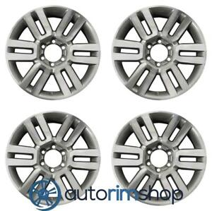 Toyota 4runner 2010 2018 20 Factory Oem Wheels Rims Set Machined With Charcoal