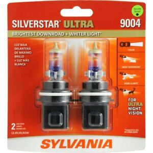 Sylvania 9004 Silverstar Ultra Night Vision Halogen Headlight Bulbs Pack Of 2