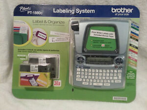 Pt 1880c Brother Electronic Labeling System Label New In Packaging