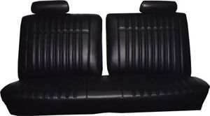 1970 Chevrolet Impala Front Split Bench Rear Seat Covers Pui