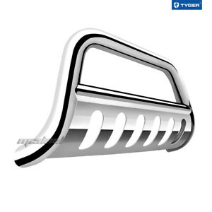 Stainless Bull Bar W skid Plate Fits Toyota 2008 2020 Sequoia 2007 2020 Tundra