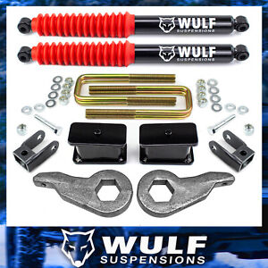 3 Complete Lift Kit Rear Shocks 99 07 Chevy Gmc Silverado Sierra 1500 4wd Ext