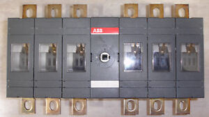 New Abb 6 Pole Disconnect Switch Ot200e33 200 Amp Ac dc 690 Vac 1000 Vdc 12kv