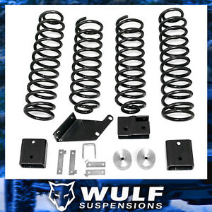 3 Front 3 Rear Lift Kit 2007 2017 Jeep Jk Wrangler Unlimited 4wd All Models