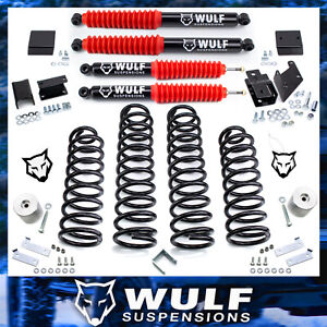 3 Front 3 Rear Lift Kit 2007 2017 Jeep Jk Wrangler Unlimited Jku 4wd W Shocks