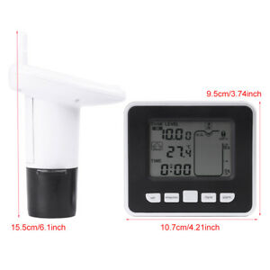 Wireless Ultrasonic Water Tank Liquid Level Meter With Sensor Temperature Zg