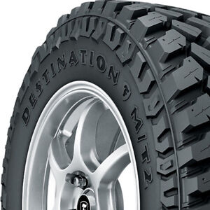 4 New 37x12 50r17 D Firestone Destination Mt2 Mud Terrain 37x1250 17 Tires M t2