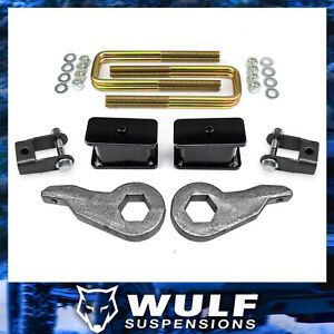 3 Front 3 Rear Full Lift Kit 1999 2007 Chevy Silverado Gmc Sierra 1500 4wd 4x4