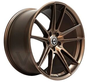 20 Hre Ff04 Flow Form Ipa Finish Concave Wheels Rims Fits Ford Mustang Gt