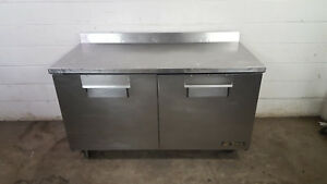 True Twt 60 Work Top Cooler 60 Tested 115v 4 Backsplash Refrigerator