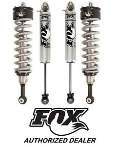Set Of 4 Fox Shocks 2 0 Perf Coilover Smoothbody Silverado 1500 07 17 Lift 0 2