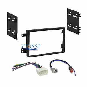 Car Radio Stereo 2 Din Dash Kit Wire Harness For 2007 2011 Honda Element Ex Sc