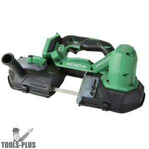 Hitachi Cb18dblp4 18v Lithium Ion Brushless 3 1 4 Band Saw tool Only New