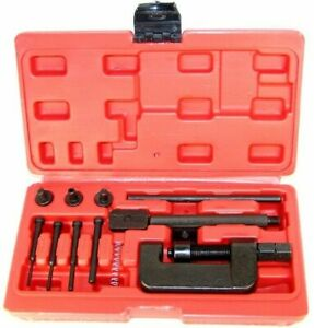 Chain Breaker Riveting Tool Cutter Ohv Cam Drive Motorcycle Link Separator 13 Pc