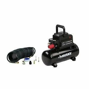 Husky 0100211a 2 Gal Electric Hotdog Air Compressor