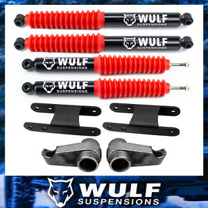 3 Full Lift Kit 2004 2012 Chevy Colorado Gmc Canyon 4x4 4wd 2wd W Wulf Shocks