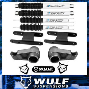 3 Front 3 Rear Lift Kit W Pro Comp Shocks For 2006 2010 Hummer H3 4wd