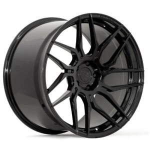 19 Rohana Rfx7 Black Forged Concave Wheels Rims Fits Nissan Maxima