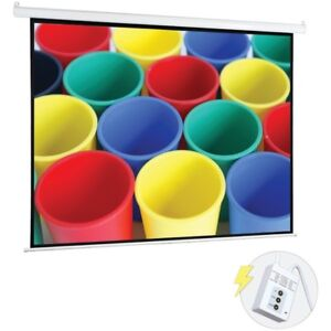 Pyle 72 Motorized Projector Screen Electronic Automatic Display