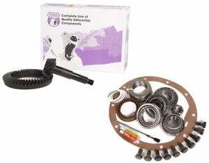 Dana 60 Front Or Rear 4 56 Thick Ring And Pinion Master Install Yukon Gear Pkg