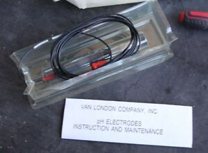 Van London Analytical Ph Electrode Probe Sensor 206 1905204 8b Rds