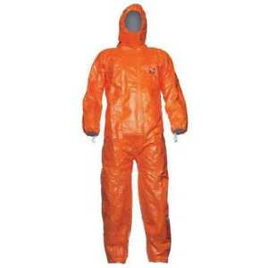 Tychem 6000 Hooded Coverall orange m 28 1 2 In pk25 Dupont Tyfcha5tormd002500