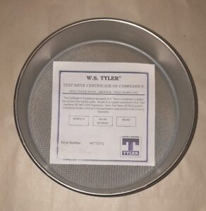 120 Us Standard Test Sieve 8 Round 8 fh ss ss us120 Mesh Screen Lab