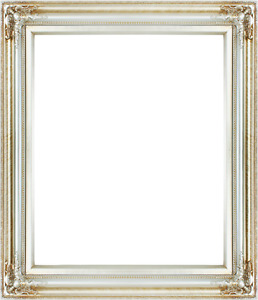 Frame 24x20 Vintage Style Old Silver Ornate Picture Oil Painting Frame 566 4
