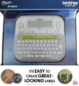 Brother P touch Pt d210 Easy to use Label Maker