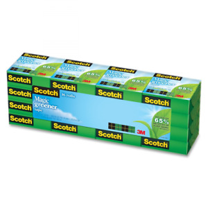 Scotch Magic Greener Tape Environmentally friendly 3 4 X 900 Inches Boxed 16