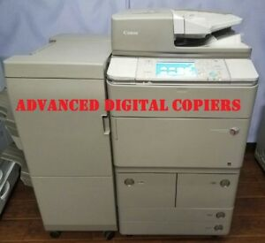 Canon Imagerunner Ira 8285 Printer Copier Scan 85ppm Very Low Meter 435k