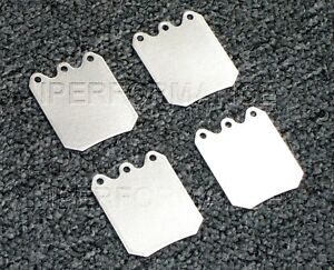 Titanium Brake Pad Shim Heat Shield Set Sierra Jfz Mgn Single