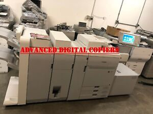 Canon Imagepress C700 Color Copier printer B1 Lite Deck Am1 Fin Low Meter