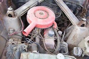 Ford Car Hole Motor 6 Cylinder 170 From 1963 63 Rancher May Fit Falcon Comet