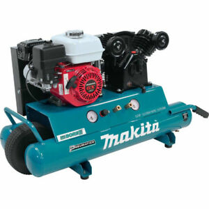 Makita 5 5 Hp 10 Gal Oil lube Gas Air Compressor Mac5501g r Reconditioned