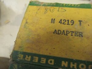 Nos John Deere 420 Clutch Sleeve Adapter M4219t