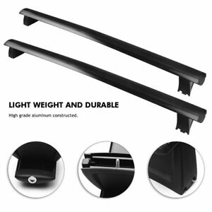 For 2011 2018 Jeep Grand Cherokee Roof Rack Cross Rails Bars Luggage Carrier E2