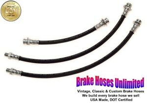 Brake Hose Set Ford Truck 1 2 Ton 1939 1940 1941