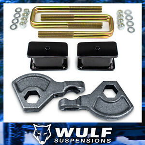 3 Front 3 Rear Leveling Lift Kit For 1997 2004 Dodge Dakota 4wd