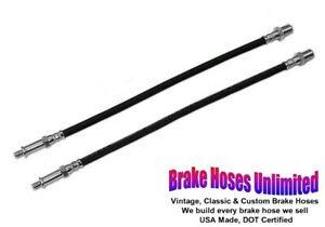 Front Brake Hoses Ford Truck 1 2 Ton F100 1957 1958 1959 1960